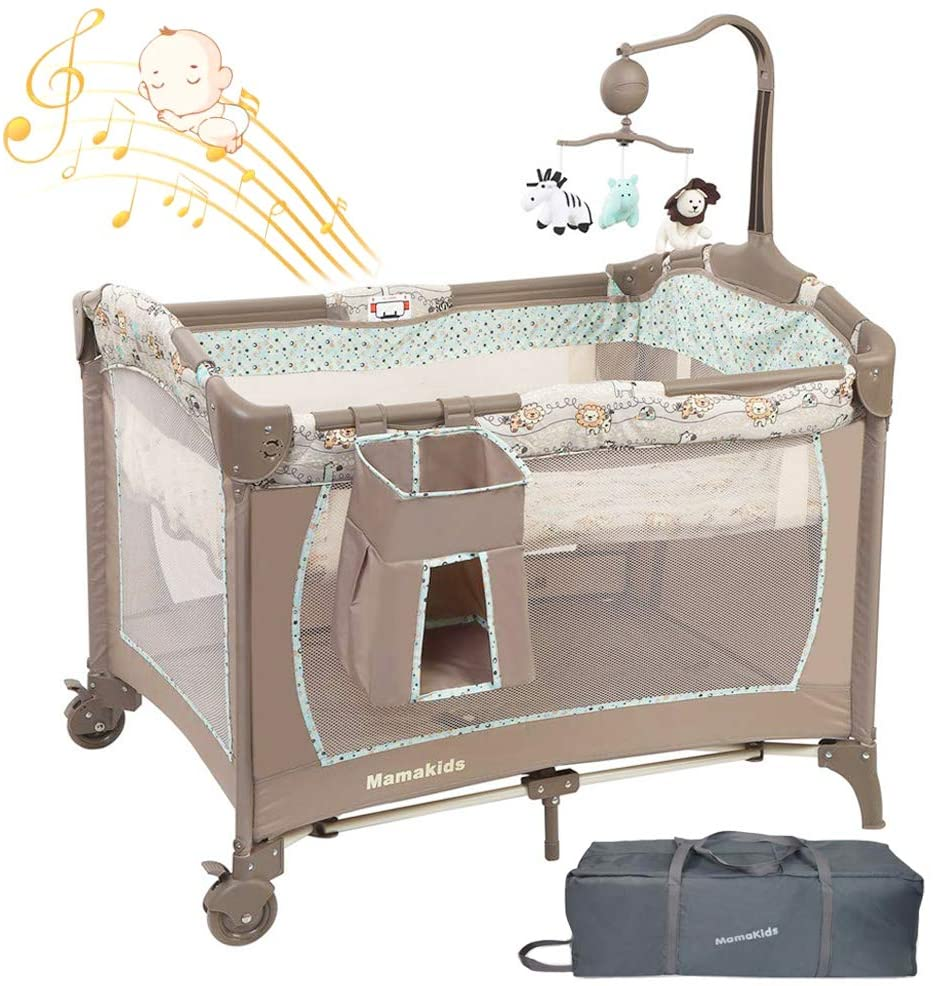 mamakids travel baby bed & bassiner